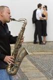 Jazz romantico fotografie stock
