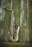 Jazz Saxophone Grunge lizenzfreie stockbilder