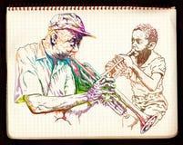 Jazz session Royalty Free Stock Image