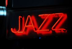 Jazz sign stock photo