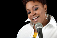 Jazz Singer imagens de stock