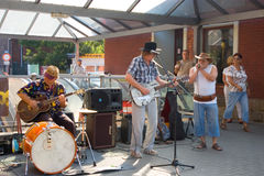 Jazz in the streets Royalty Free Stock Photo