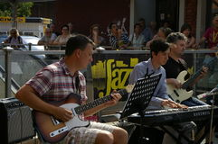 Jazz in the streets 2015 Royalty Free Stock Photos