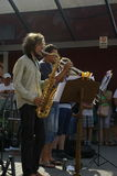 Jazz in the streets 2015 Royalty Free Stock Image