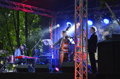 Jazz Trio GKV immagine stock libera da diritti