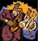 Jazz Trio vector illustration