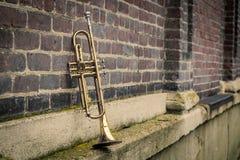 Jazz Trumpet Club royalty-vrije stock afbeelding