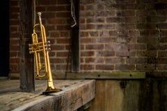 Jazz Trumpet Club stock fotografie