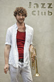 Jazz Trumpet Stock Image