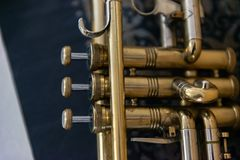 Jazz Tubowe klapy Zdjęcie Stock