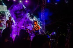Jazz Varaderos Josone u. Sohn-Festival 1 lizenzfreie stockbilder