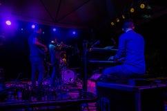 Jazz Varaderos Josone u. Sohn-Festival 6 stockfotos