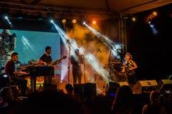 Jazz Varaderos Josone u. Sohn-Festival 3 lizenzfreie stockfotografie