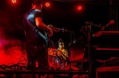 Jazz Varaderos Josone u. Sohn-Festival 4 lizenzfreies stockfoto