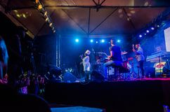 Jazz Varaderos Josone u. Sohn-Festival 10 stockbilder
