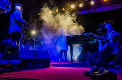 Jazz Varaderos Josone u. Sohn-Festival 10 lizenzfreie stockbilder