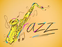 Jazz Vector Art Lizenzfreie Stockbilder