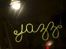 Jazz-Zeichen stockfotos