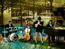 Jazzband Stockfoto