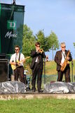 Jazzband arkivbilder