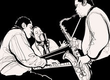 Jazzband Royalty-vrije Stock Foto's