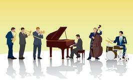 Jazzband Lizenzfreie Stockfotos