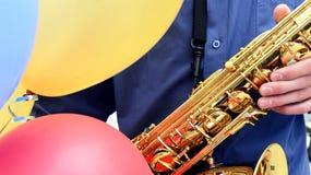 jazzdeltagare royaltyfria bilder