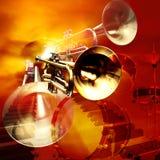 Jazzfelsenhintergrund Stockbilder