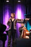 JazzFESTBrno 2009 - Karrin Allyson Image libre de droits