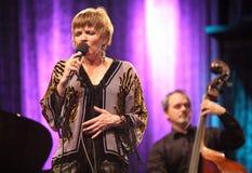 JazzFESTBrno 2009 - Karrin Allyson Photo libre de droits