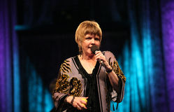 JazzFESTBrno 2009 - Karrin Allyson Royalty Free Stock Photos