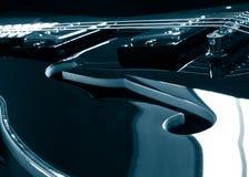 Jazzgitarre Lizenzfreies Stockfoto
