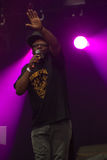 Jazzie B exécutant au BT Londres vivent 2012 Photo stock