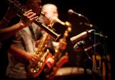 Jazzkonsert Royaltyfri Bild