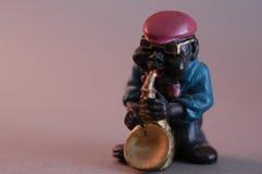 jazzman royaltyfri bild