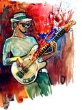 Jazzman royalty ilustracja