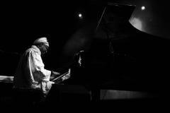 jazzman Omar sosa Zdjęcia Royalty Free