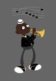 Jazzmann Lizenzfreie Abbildung