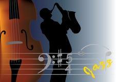jazzmusiker Royaltyfria Bilder