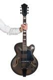 Jazzowa gitara Zdjęcia Royalty Free