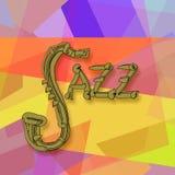 Jazzowa muzyka Zdjęcia Stock