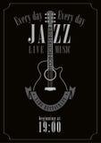 Jazzowa muzyka Obrazy Stock