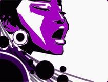 jazzowej muzyki serie Obrazy Stock