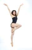 Jazzowej nowożytnej kobiety baletniczy tancerz obrazy stock