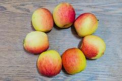 Jazzowi jabłka Fotografia Royalty Free