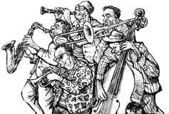 Jazzowy zespół Zdjęcie Royalty Free