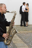 jazzromantiker arkivfoton