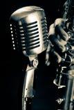 jazzsax Royaltyfria Bilder