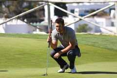 JB Gonnet at Andalucia Golf Open, Marbella Stock Image