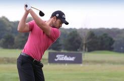 JB Gonnet, cuvette de golf de Vivendi, septembre 2010 Image libre de droits